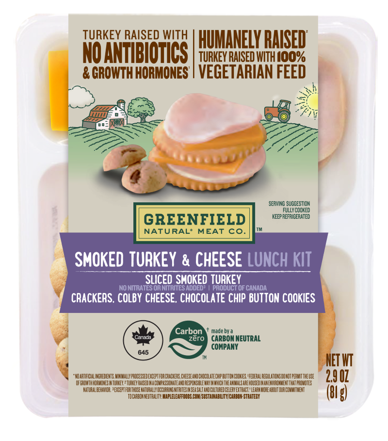 Greenfield Smoked Turkey & Cheese Lunch Kit 2.9oz