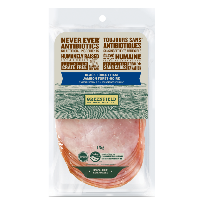 Greenfield Natural Meat Co Black Forest Ham