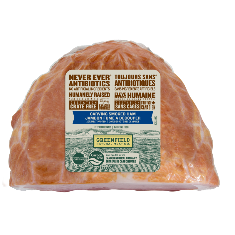 Greenfield Natural Meat Co Carving Smoked Ham