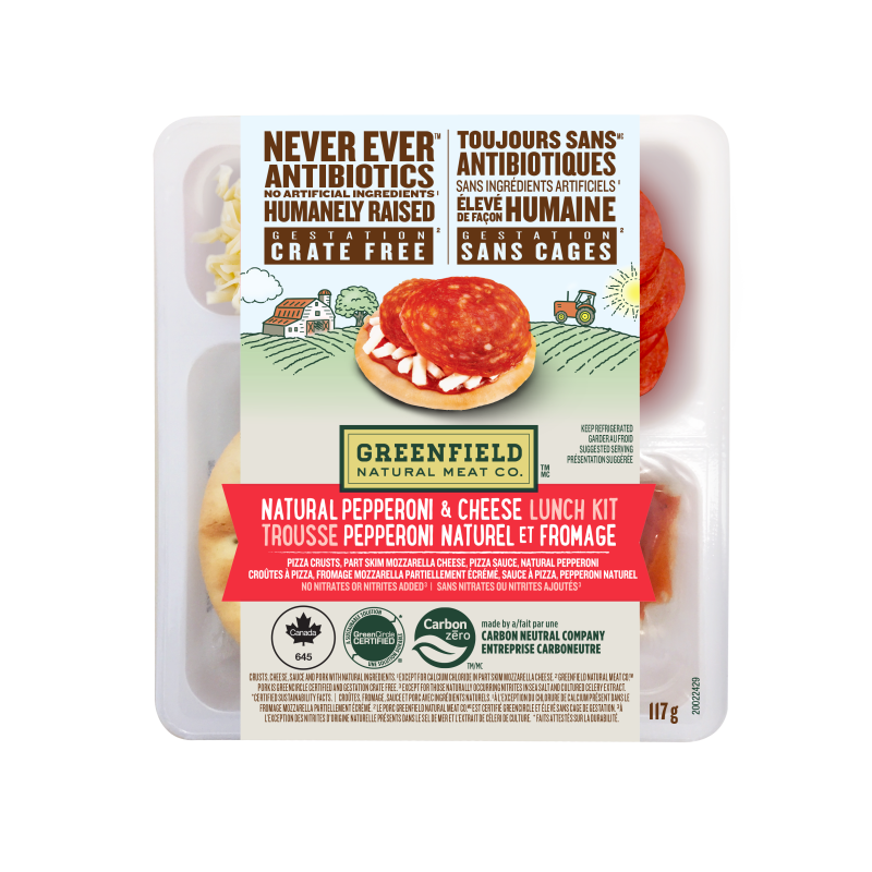 Greenfield Natural Meat Co Natural Pepperoni & Cheese Lunch Kit